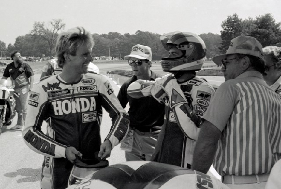 Bubba Shobert and Wayne Rainey